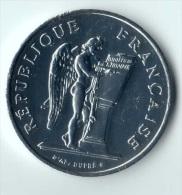 ** 100 FRANCS 1989 DROITS DE L HOMME ARGENT SUP ** - France