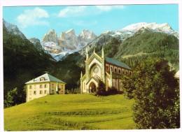 K548 Falcade (Belluno) - La Chiesa Con Le Cime Del Focobon E Il Monte Mulaz - Valle Del Blois / Non Viaggiata - Altre Città