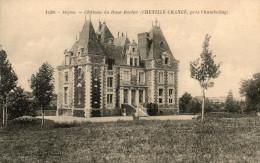 CHENILLE CHANGE Pres Chambellay Chateau Du Haut-rocher - France