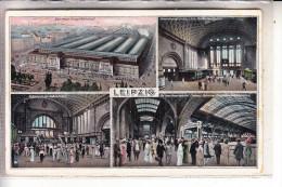 0-7000 LEIPZIG, Hauptbahnhof, 1910 - Leipzig