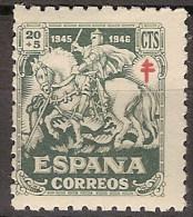 España 0994 ** Tuberculosos. 1944 - 1931-50 Unused Stamps