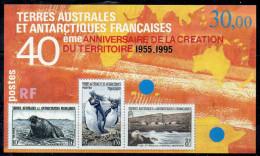 N° 2 -  40em Anniversaire Creation Du Territoire - Blocs-feuillets