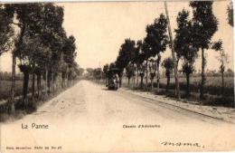 De Panne    1 CPA Weg Naar Adinkerke Paardetram  Nels Serie 80 N°47   1905 - De Panne