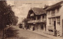 De Panne 6 CPA  Vissershuisjes  Oude Weg VD 8328   Hotel Maritime & Plage   Bld Dunkerque  Av De La Mer Tram - De Panne
