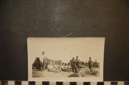 Photographie, Guerre Militaire Militaria Regiment Camp A Identifier Afrique Du Nord Maroc Ou Tunisie - Guerre, Militaire