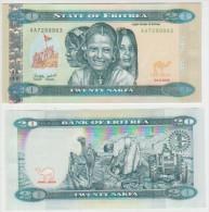 Eritrea  20 Nakfa 2012 Pick NEW UNC - Erythrée