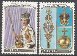 Bahamas. 1978 25th Anniv Of Coronation. MNH Complete Set SG 515-6 - Bahamas (1973-...)