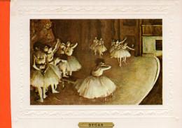 Danse Classique - DEGAS - Répétition (gauffrée) - Danse