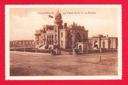 E-Egypte-117P17 HELIOPOLIS, Quartier Du Caire, Le Palais De La Sultane, Cpa BE - Cairo