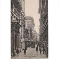 ITLATP1302C-LFTD1368TARSC.TARJETA POSTAL DE ITALIA.Calle De COMO,coche,calle Estrecha,edificios Y Personas. - Edificios & Arquitectura