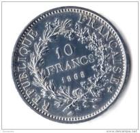 ** 10 FRANCS HERCULE ACCENT 1968 SUP  ** - France