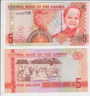 Gambia 5 Dalasis 2013 Pick25c UNC - Gambia