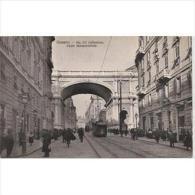 ITLATP1303CLFTD1371TARSC .TARJETA POSTAL DE ITALIA,calle Estrecha,edificios Y Personas.VIA XX DE SEPTIEMBRE.Genova - Edificios & Arquitectura