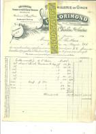 71 - Saône-et-loire - CHALON-SUR-SAONE - Facture FLORIMOND - Quincaillerie En Gros – 1906 - REF 112 - France