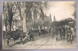 CAEN . La Place Du Pare Unjour De Foire . - Caen