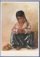 KRISTIAN KREKOVIC  -F/G  Colore -  Indian Girl (170609) - Peintures & Tableaux