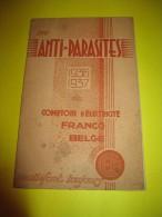 Promotion/Les Antiparasites /Comptoir D´electricité Franco-Belge / 1936-1937   GEF49 - Electricity & Gas