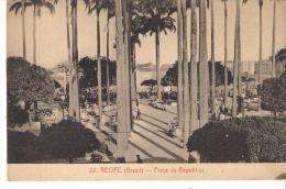 CPA.  BRESIL .RECIFE .  PRACA DA REPUBLICA...  SCAN. - Recife