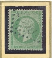 N°20 NUANCE ET OBLITERATION. - 1862 Napoleon III
