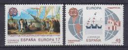 Europa Cept 1992 Spain 2v ** Mnh (LT1329) - Europa-CEPT