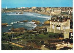 BIARRITZ - Vue Générale De Biarritz. Au Fond Le Phare Et Les Grands Hotels -Elcé 4705 - Circulé 1973 - - Biarritz