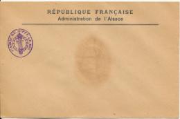 68 Soppe-le-Bas - Cachet Administratif De La Mairie Au Verso Cachet De Cire - Alsace-Lorraine
