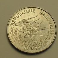 1971 - Gabon - 100 FRANCS - KM 12 - Gabon