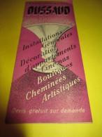 Dépliant Publicitaire/ Etablissements DUSSAUD/ Installations Générales Décoration/Lampes  /vers 1930-1950   GEF53 - Electricity & Gas