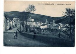 C P A-------42------ROCHETAILLEE--------l'entrée Du Village-----voir 2 Scans - Rochetaillee