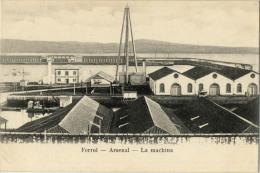 ESPAGNE FERROL ARSENAL LA MACHINA - Espagne