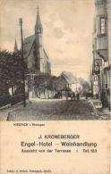 Allemagne - Kiedrich I. Rheingau - J. Kroneberger Engel Hotel, Weinhandlung - Rheingau
