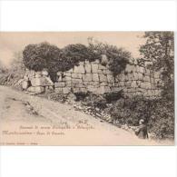ITLATP1305C--LFTD145TFPA. TARJETA POSTAL DE ITALIA.Camino De,ROMA.Montecasino.Piedras De Alguna Ruina Antigua - Sin Clasificación