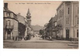 88---SAINT-DIE--rue Gambette Et Rue Thiers---voir 2 Scans - Saint Die