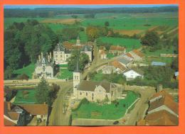 """Dpt  52  Savigny  """"   Vue Aerienne - L'eglise Et Le Chateau  """"  Cpm GF - France"""