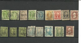 Mexico. Conjunto De 17 Sellos Clásicos - Sellos