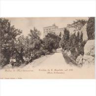 ITLATP1306C-LFTD156TTSCTARJETA POSTAL DE ITALIA.Subida A  La Abadia De MONTECASINO,ROMA. - Postales