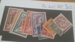 LOT 226808 TIMBRE DE COLONIE ALAOUITES NEUF* N�1 A 15 VALEUR 102 EUROS
