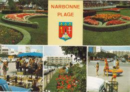 CP  NARBONNE PLAGE 11 AUDE  MULTIVUES - Narbonne