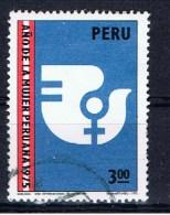 PE+ Peru 1975 Mi 999 Jahr Der Frau - Peru