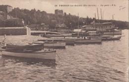 1938 THONON LES BAINS LE PORT - Thonon-les-Bains