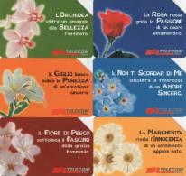 *ITALIA: MESSAGGI FLOREALI* - Serie Completa Usata - Flowers