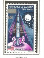 Sello Nº A-123 Dahomey - Astrología