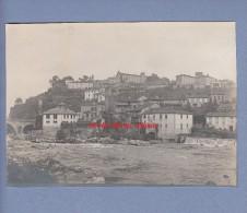 Photo Ancienne - SAINT LIZIER - Ariège - Vue Sur La Ville - Orte