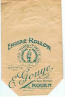 ROUEN    EPICERIE ROLLON  E GOUYE 8 RUE ROLLON  TEL 12-91 - Pubblicitari