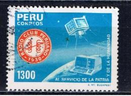 PE+ Peru 1985 Mi 1303 1306 Radio-Club Und Lamakopf - Peru