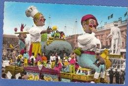 CARNEVALE Di NIZZA -Francia -F/P Colore  (210309) - Spettacolo