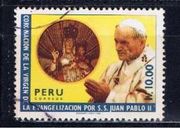 PE+ Peru 1988 Mi 1371 Johannes Paul II. - Perù