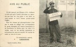 Garde Champêtre - Crieur Public - à Localiser - éditeur; Garnier-Jendars à Mâcon - Cpa En Parfait Etat. - To Identify