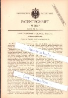 Original Patent - Albert Reppmann In Moscau , Russland , 1889 , Abstimmungsapparat , Wahl , Moskau !!! - Historische Dokumente
