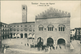 ITALIE TREVISO / Piazza Dei Signori E Palazzo Dei 300 / - Treviso
